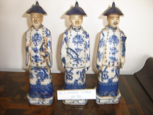 3 kinesiske guder